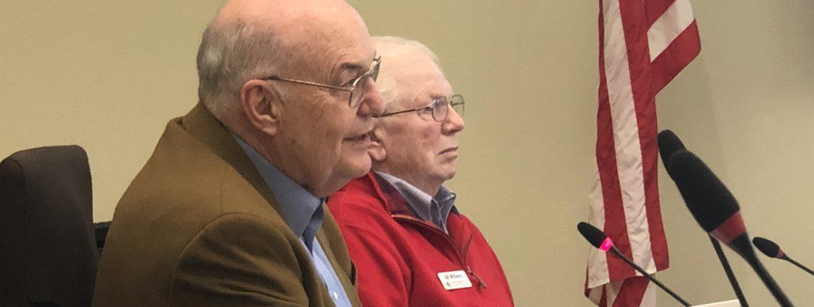Board Members Harry Carthum and Bill Williams
