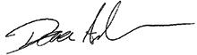 Dana Anderson signature