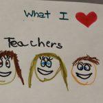 Kids drawn picture